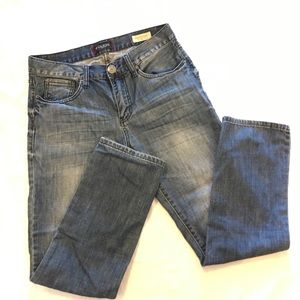 Men's GUESS slim straight jeans